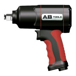 "AB-112F1 - Pistola de impacto económica semicomposite 1/2"" - apriete 800 / afloje 1200 Newtons - marca AB TOOLS -"