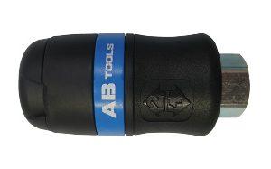 """AB-061101 - Enchufe rosca hembra 1/4"""" neumático serie 24"""