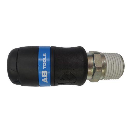 """AB-061153 - Enchufe rosca macho 1/2"""" - serie 24"""