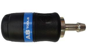 AB-061808 - Enchufe neumático de seguridad para tubo 8mm manguera serie 24