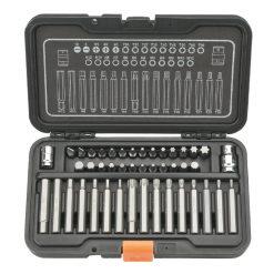 BS-21044K - Juego de puntas en caja de plástico (44 piezas)