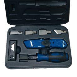 HSA0014 - Juego de cutters metálicos (27 piezas)