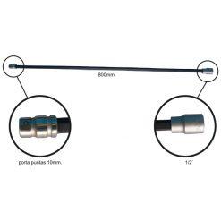 Porta puntas de 10 mm. extralargo - Ideal para acceder a palieres.