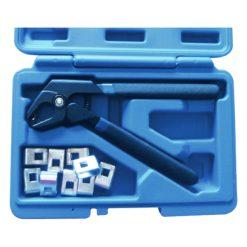 ST-22045 - Alicate con grapas de acero reutilizables (11 piezas)