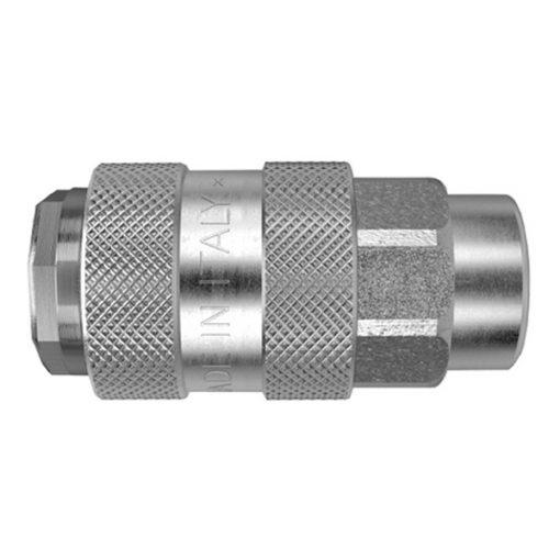 MOD. 500 ZMK - Enchufe metálico universal hembra