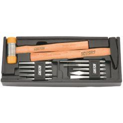 M7 - HP-13012S - Módulo de martillos y botadores Custor, 12 piezas (Tamaño L)