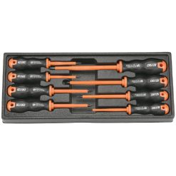 M22 - SD-81908S - Módulo de 8 destornilladores aislados Custor (Tamaño L)
