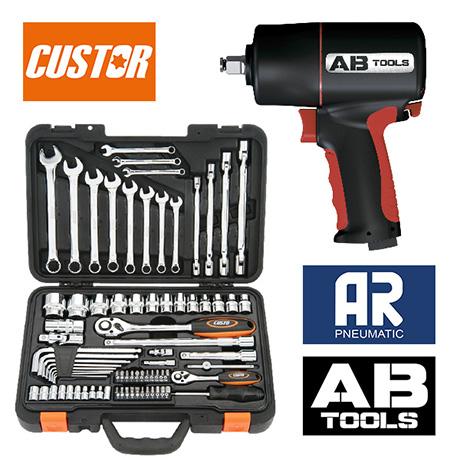 herramientas neumáticas y manuales para taller e industria