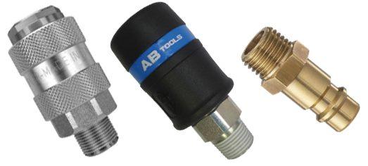 suministros industriales enchufes rácores conexiones aire mini